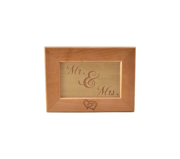 Custom engraved keepsake box.
