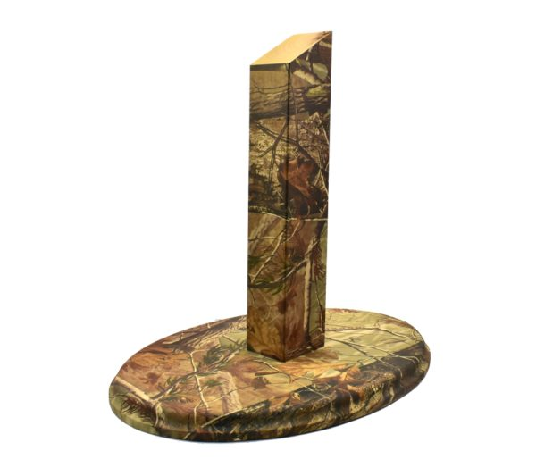 Large European Plaque Stand- Camo - Whitetail Woodcrafters