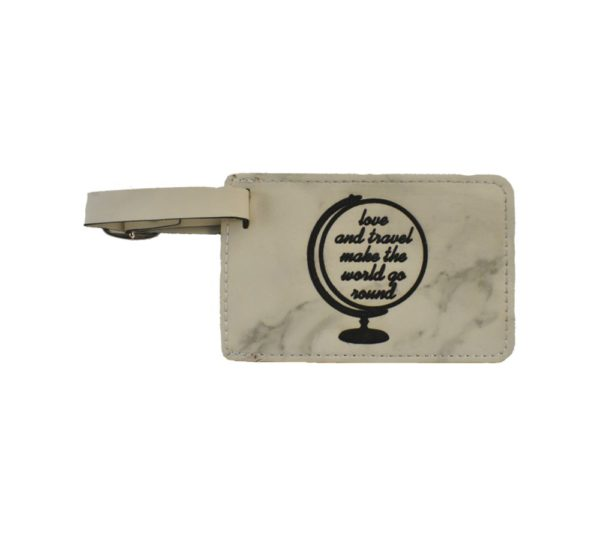 Love and Travel Luggage Tag Wedding Favor